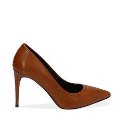 Escarpins cuir en cuir de veau, talon 9 cm , Primadonna, 16D600416VICUOI036, 001a