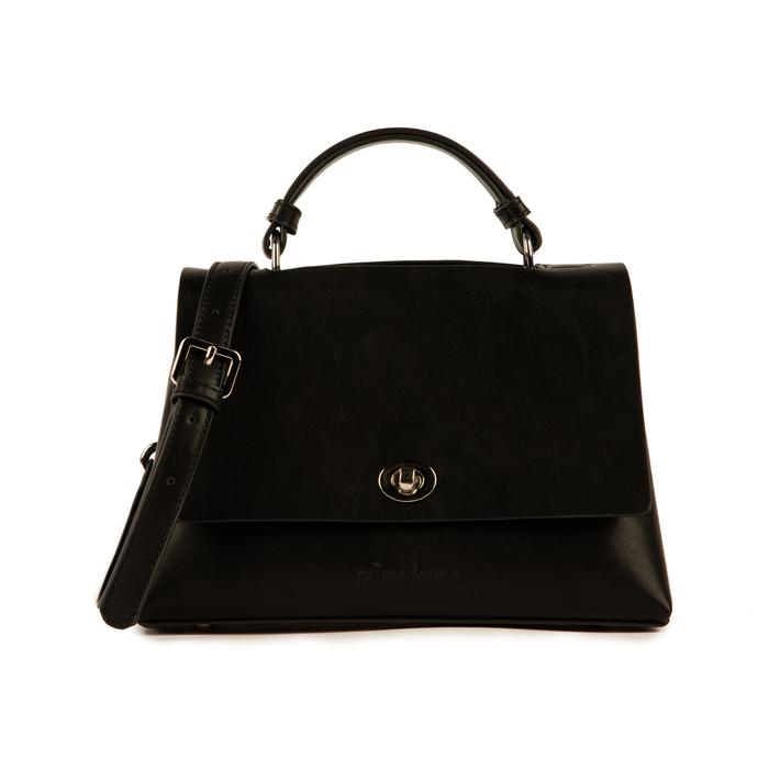 Mini bag en eco-piel color negro, Bolsos, 155700372EPNEROUNI