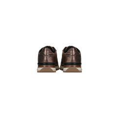 Sneakers bronzo dettagli glitter e metallizzati , Scarpe, 121308201GLBRON, 003 preview