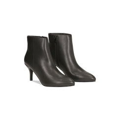 Tronchetti neri, tacco medio 5 cm, Scarpe, 122707332EPNERO, 002 preview