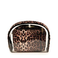 Neceser de pvc con estampado de leopardo, Primadonna, 155122760PVLEOPUNI, 001a
