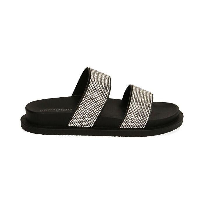 Chaussons en PVC noir, Primadonna, 174700595PVNERO036
