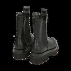 Bottes Chelsea noir, talon 5 cm, Primadonna, 167560723EPNERO036, 004 preview