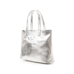 Maxi bag argento in laminato , Primadonna, 133764104LMARGEUNI, 004 preview