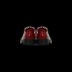 Francesine con tacco basso rosse, Scarpe, 122808656VEROSS, 003 preview
