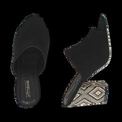CALZATURA CIABATTE MICROFIBRA NERO, Zapatos, 154970855MFNERO035, 003 preview