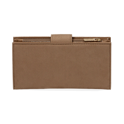 Monedero en microfibra color beige, Bolsos, 155122158MFBEIGUNI, 004 preview