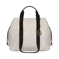 Maxi-bag bianca, Primadonna, 172392506EPBIANUNI, 001a