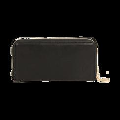 Portafogli nero, Borse, 155122519EPNEROUNI, 004 preview