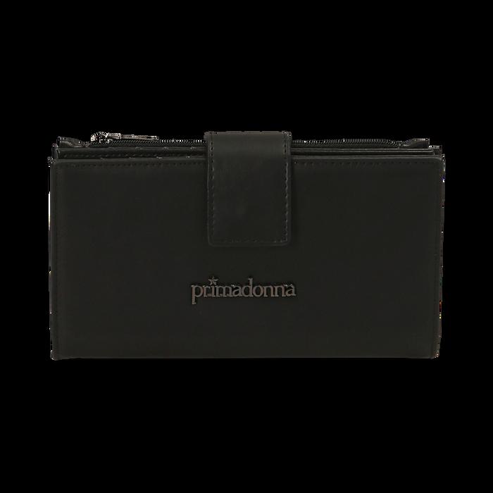 Portafogli nero, Borse, 155122158EPNEROUNI