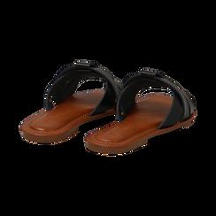 Mules nere in eco-pelle, Primadonna, 133661443EPNERO035, 004 preview