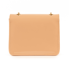 Petit sac nude en simili-cuir verni, Sacs, 155108225VENUDEUNI, 003 preview