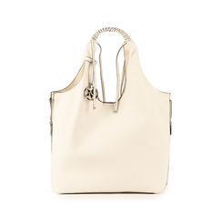 Shopper blanc en simili-cuir, Sacs, 155702557EPBIANUNI, 001 preview