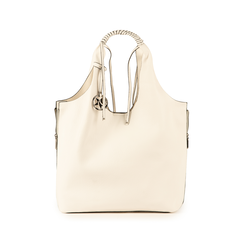 Shopper bianca, Borse, 155702557EPBIANUNI, 001 preview