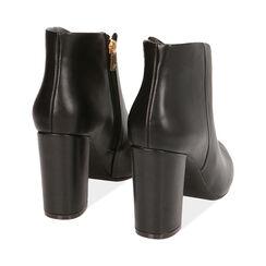 Ankle boots neri, tacco 9,5 cm , Primadonna, 174916101EPNERO036, 004 preview