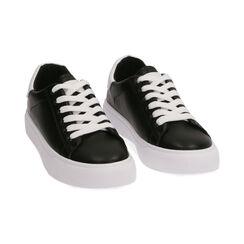 Baskets noires, Chaussures, 172621209EPNEBI035, 002 preview