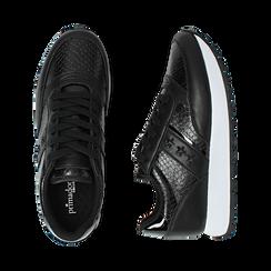 Sneakers nere stampa vipera, Primadonna, 162619079EVNERO037, 003 preview