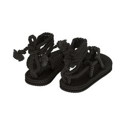 Sandali mare neri in tessuto , Primadonna, 170909004TSNERO035, 004 preview