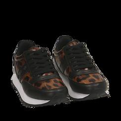 Sneakers léopard , Primadonna, 162619079EPLEMA035, 002a