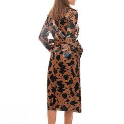 Trench giraffa stampa vipera , Primadonna, 16C900408EVGIRAM, 002a