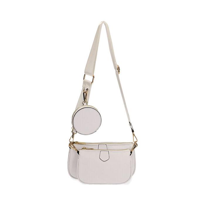 Doppia borsa bianca, Primadonna, 172301272EPBIANUNI