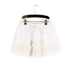 Shorts bianchi in tessuto , Primadonna, 150503108TSBIANUNI, 003 preview