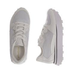 Sneakers bianche in tessuto tecnico , Primadonna, 177519601TSBIAN035, 003 preview