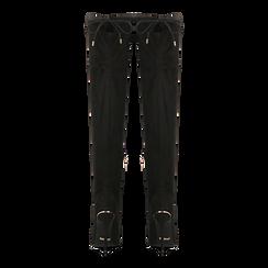 Stivali sopra il ginocchio neri, tacco stiletto 11 cm, Scarpe, 122146868MFNERO, 003 preview