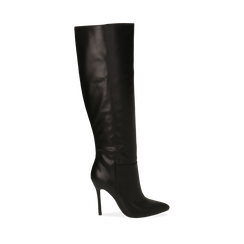 Stivali neri, tacco 10,50 cm , Primadonna, 162146862EPNERO035, 001a