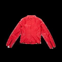 Giacca ecopelle corta rossa, Abbigliamento, 126577302EPROSS, 006 preview