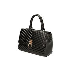Bolsa de mano matelassé negra, Primadonna, 161012886EPNEROUNI, 002 preview