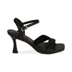 Sandali neri, tacco 8 cm , Primadonna, 172791815EPNERO035, 001 preview