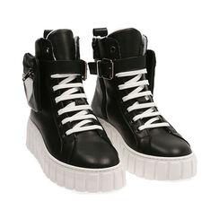 Sneakers nere in pelle, Primadonna, 17L645608PENERO035, 002 preview