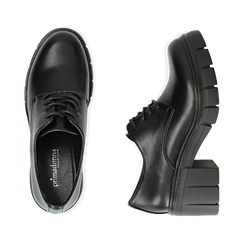 Oxford en color negro, tacón 5 cm , Promozioni, 160621175EPNERO037, 003 preview