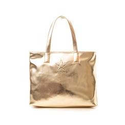 Maxi bag oro in laminato , Primadonna, 133764104LMOROGUNI, 001 preview