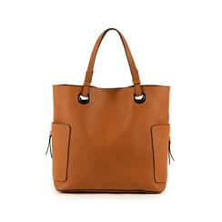 Maxi-sac couleur cuir, SACS, 153708276EPCUOIUNI, 003 preview