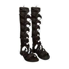 Sandalias de gladiador negras, Primadonna, 174952233EPNERO035, 002 preview