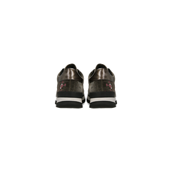 Sneakers taupe  con ricami floreali velluto, Scarpe, 121617734VLTAUP, 003 preview
