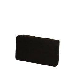 Clutch en microfibra color negro, GIFT IDEAS, 165109588MFNEROUNI, 002a