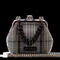 Pochette vintage in tweed, Saldi Borse, 122701280TSBINEUNI, 001a