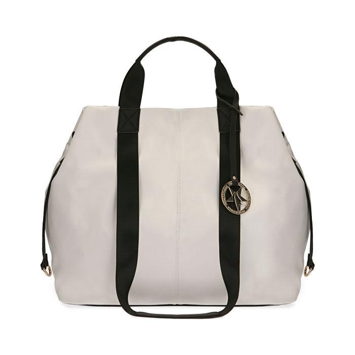 Maxi-bag bianca, Primadonna, 172392506EPBIANUNI