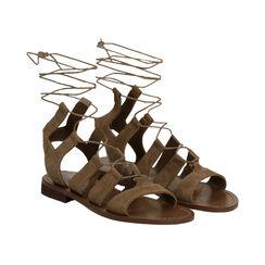 Sandalias gladiadoras de ante taupe, Primadonna, 178100348CMTAUP035, 002 preview
