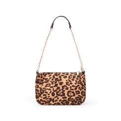 Borsa a tracolla leopard in microfibra, Borse, 145127201MFLEMAUNI, 001 preview