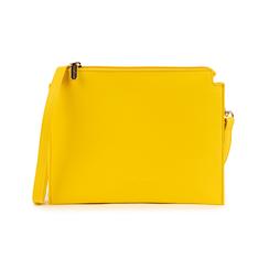 Pochette jaune en simili-cuir, Sacs, 155122634EPGIALUNI, 001 preview