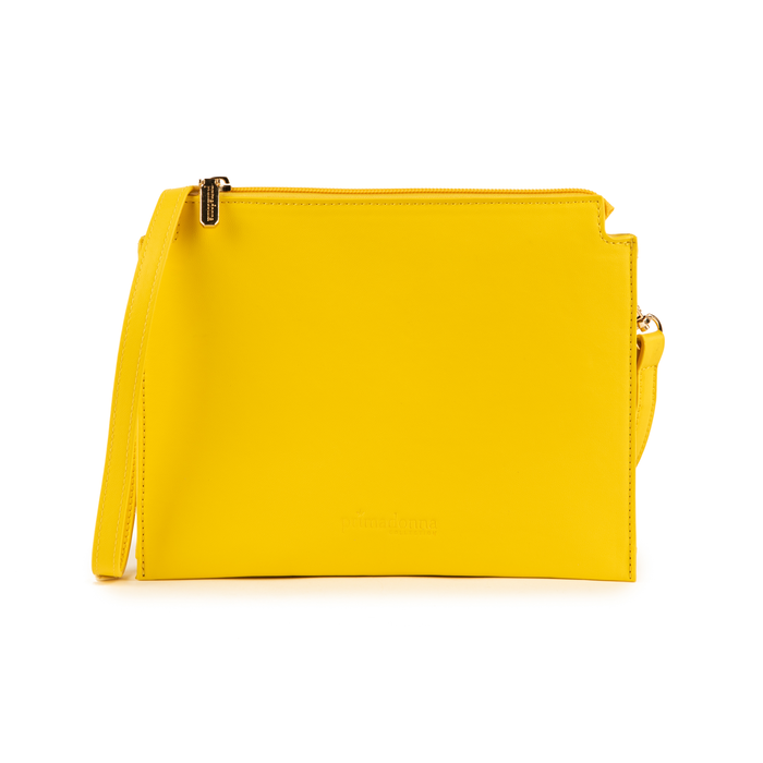 Pochette jaune en simili-cuir, Sacs, 155122634EPGIALUNI