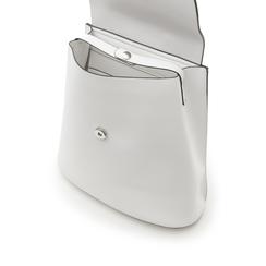 Zainetto bianco in eco-pelle minimal, Borse, 133783137EPBIANUNI, 004 preview