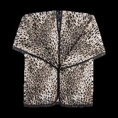 Poncho leopard, Abbigliamento, 12B409676TSLEOPUNI, 001 preview