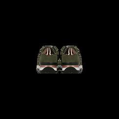 Sneakers verdi dettagli glitter e metallizzati , Primadonna, 121308201LMVERD035, 003 preview