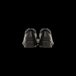 Francesine stringate nere, stile urban, Primadonna, 120618201EPNERO036, 003 preview