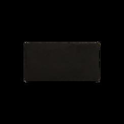 Pochette nera in microfibra , Borse, 165122502MFNEROUNI, 003 preview